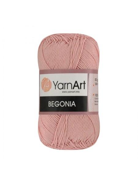 Пряжа Begonia YarnArt-Бегония.№4105, цв-сухая роза,50гр-169 м