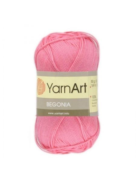 Пряжа Begonia YarnArt-Бегония.№5001, цв-ярко-розовый,50гр-169 м