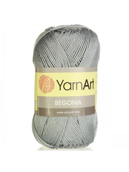 Пряжа Begonia YarnArt-Бегония.№5326, цв-серый,50гр-169 м