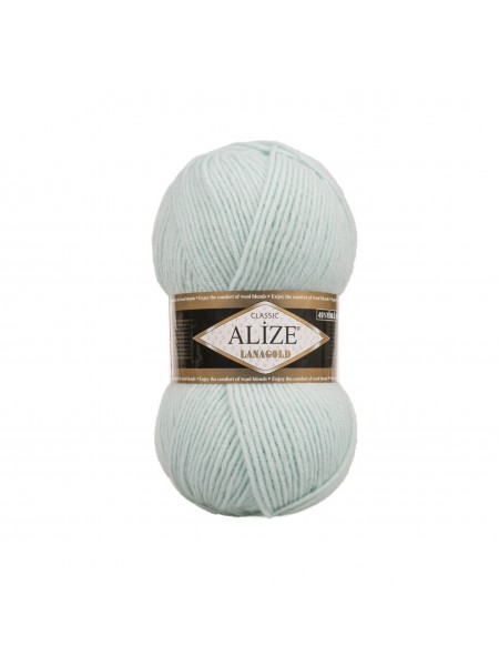 Пряжа Alize-Ланаголд (Lanagold) цв-522(мята)