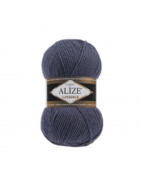 Пряжа Alize-Ланаголд (Lanagold) цв-381 (морская волна темная)