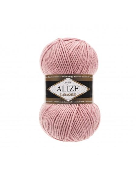 Пряжа Alize-Ланаголд (Lanagold) цв-161 (пудра)