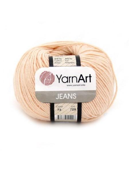 """Пряжа  YarnArt """"Jeans Джинс""""цв. 73, персик"""