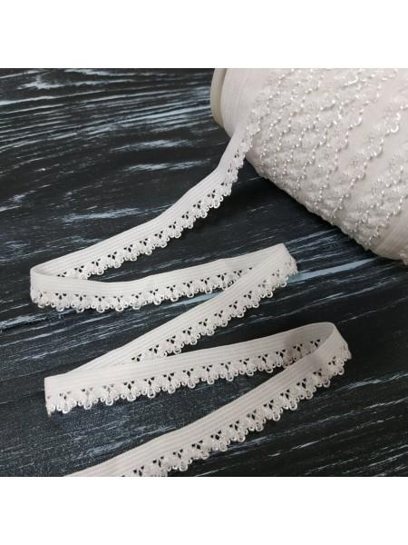 Резинка бельевая ажурная,12 мм,цена за 1 метр