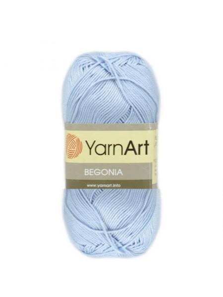 Пряжа Begonia YarnArt-Бегония.№4917, цв-голубой,50гр-169 м