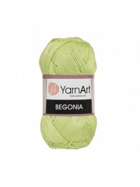 Пряжа Begonia YarnArt-Бегония.№6352,цв-салатовый, 50гр-169 м