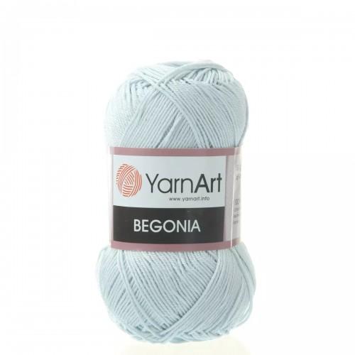 Пряжа Begonia YarnArt-Бегония.№54462, цв-серо-голубой,50гр-169 м