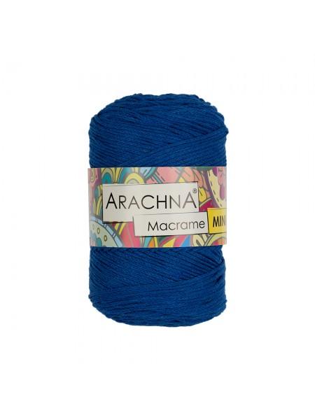 """Шнур для вязания и макраме """"Macrame Mini""""цв-синий, 3мм- 230 м"""