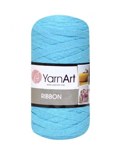 Пряжа Ribbon 250гр - 125м (Бирюза) YarnArt,№763