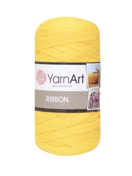 Пряжа Ribbon 250гр - 125м (Жёлтый) YarnArt,№764