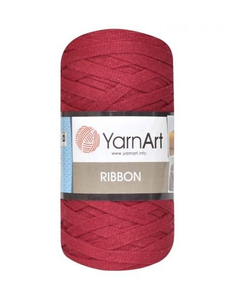 Пряжа Ribbon 250гр - 125м (винно-красный) YarnArt,№781
