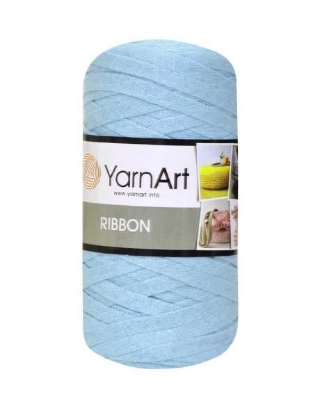 Пряжа Ribbon 250гр - 125м (Голубой) YarnArt,№760