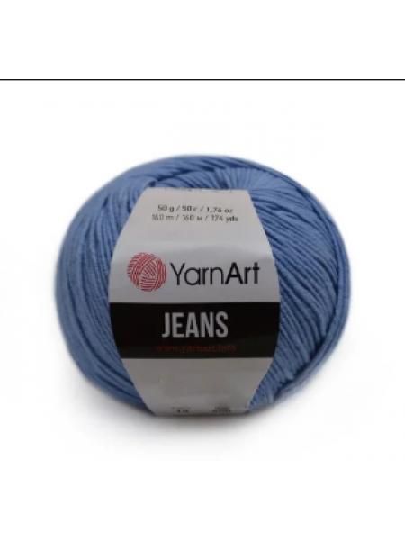 """Пряжа  YarnArt """"Jeans Джинс""""цв. 15, голубой"""