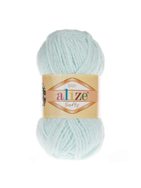 Пряжа Alize Softy,цв-водяная зелень,50 гр