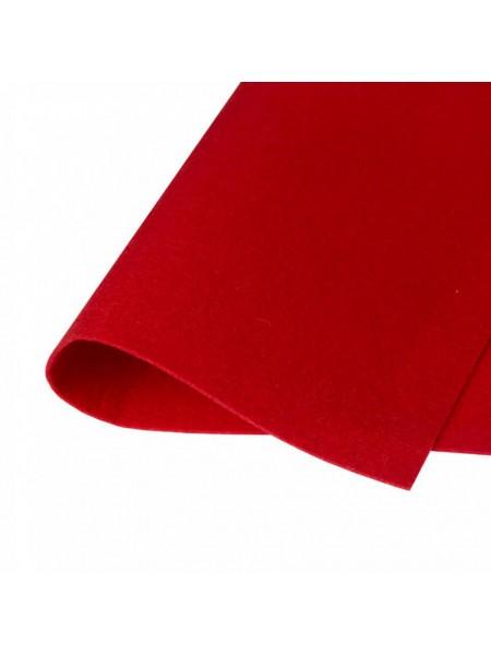 Корейский фетр,жесткий,бордо.1,5 мм,размер 33*26см