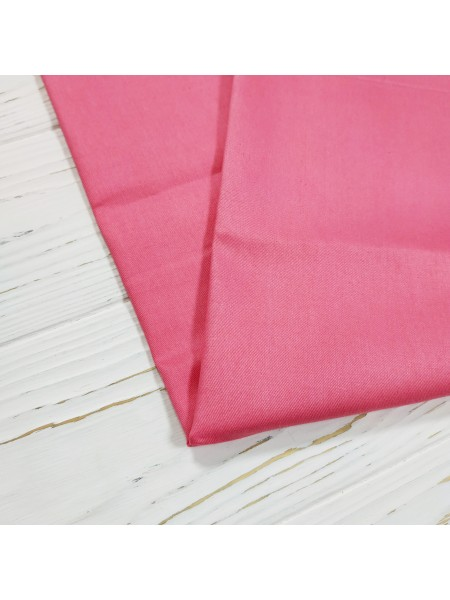 Отрез (сатин),-цв-тёмно-розовый,50*50 см.цена за отрез