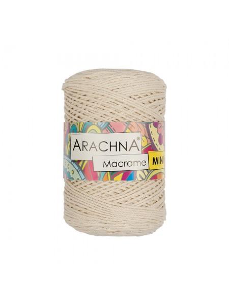 """Шнур для вязания и макраме """"Macrame Mini""""цв-натуральный, 3мм- 230 м"""
