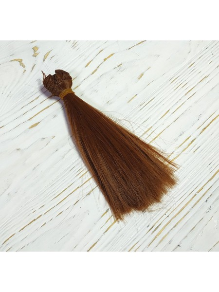 Трессы-прямые (волосы для кукол) ,15см