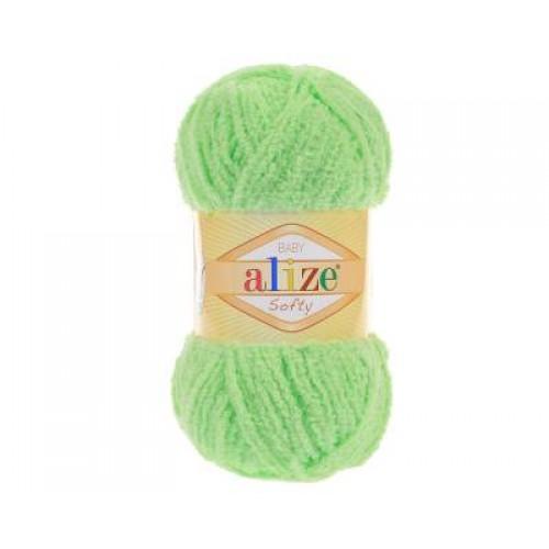 Пряжа Alize Softy,цв-салатовый,50 гр