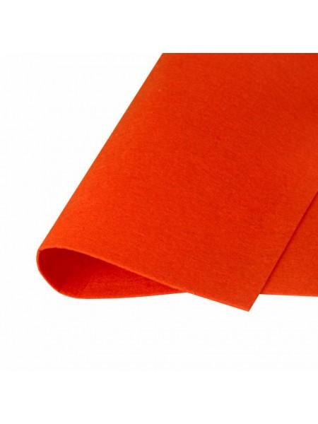 Корейский фетр,жесткий,беж-терракотовый.1,5 мм,размер 33*26см