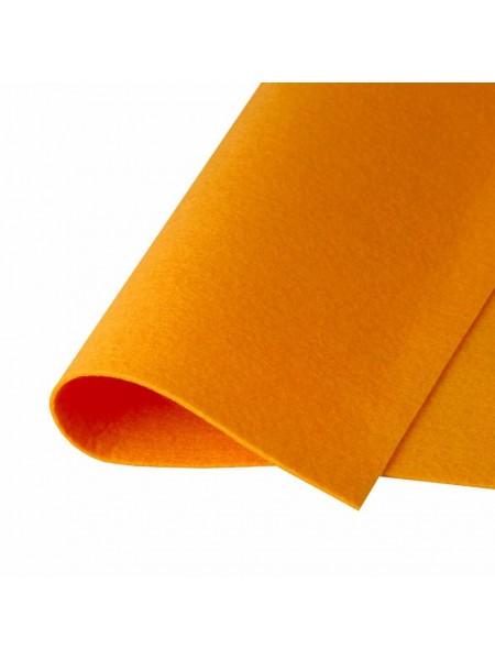 Корейский фетр,жесткий,рыжий.1,5 мм,размер 33*26см