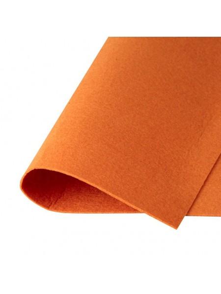 Корейский фетр,жесткий,охра.1,5 мм,размер 33*26см