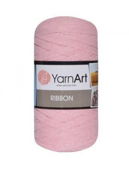 Пряжа Ribbon 250гр - 125м (Розовый) YarnArt,№762
