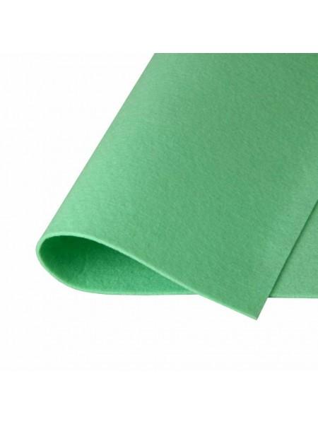 Корейский фетр,жесткий,мятный.1,5 мм,размер 33*26см
