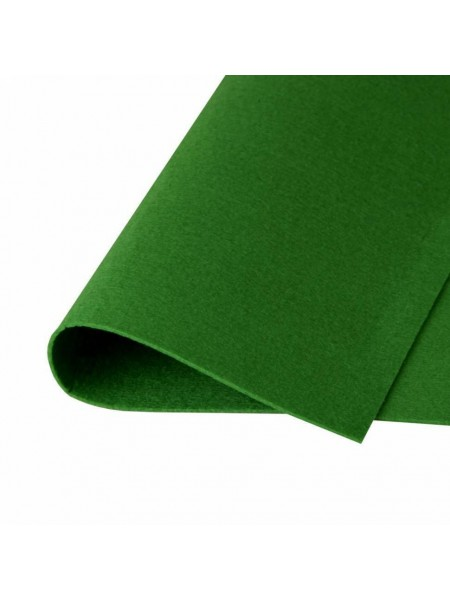 Корейский фетр,жесткий,оливковый.1,5 мм,размер 33*26см