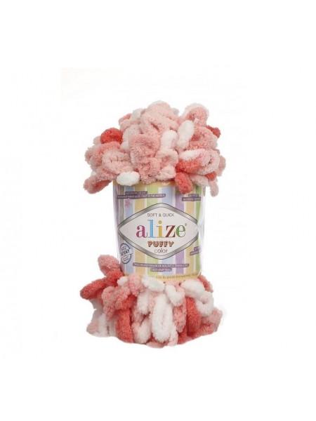 Пряжа Alize Puffy Color,цв-5922  ,100 гр-9 м
