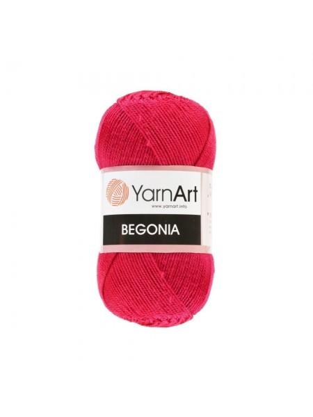 Пряжа Begonia YarnArt-Бегония.№6328,цв-красный, 50гр-169 м