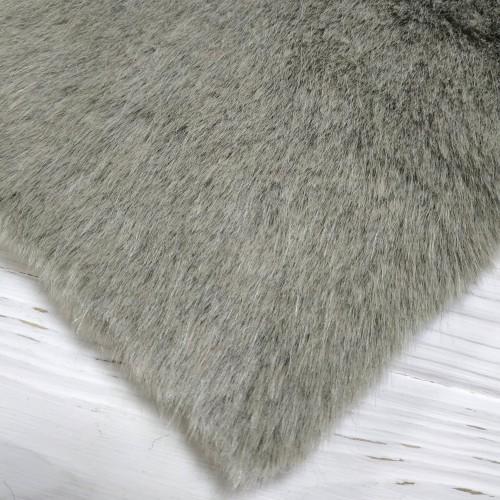 """Мех-плюш  """"Элит"""" ворс 5мм (20%х/б -80% акрил),плотный, 45см*50см, цв.мышиный, Италия"""