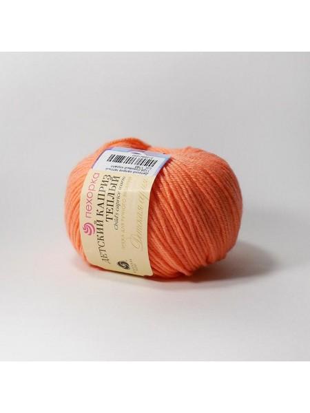 Пряжа Детский каприз тёплый - 1125 - розовый коралл