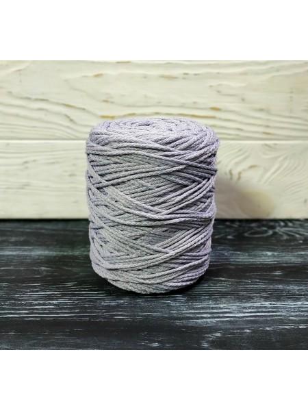 Шнур для вязания,  3мм, цв.серо-голубой ,200 метров