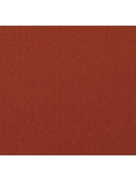 Корейский фетр,жесткий,красно-коричневый.1,5 мм,размер 33*26см