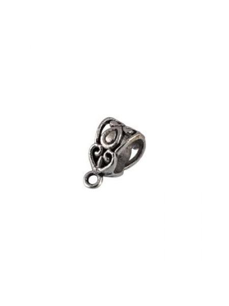Бейл-держатель для кулона,античное серебро, цена за упак(2шт)