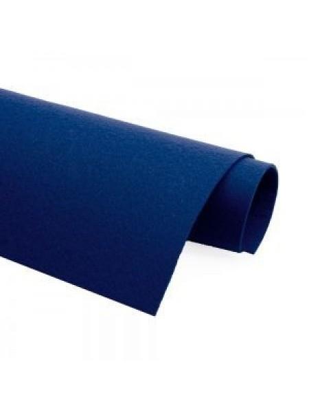 Корейский фетр,жесткий,васильковый.1,2 мм,размер 33*26см