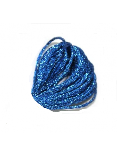 Нитки для вышивания металлик. Blue Sapphire-Е3843-аналог ДМС