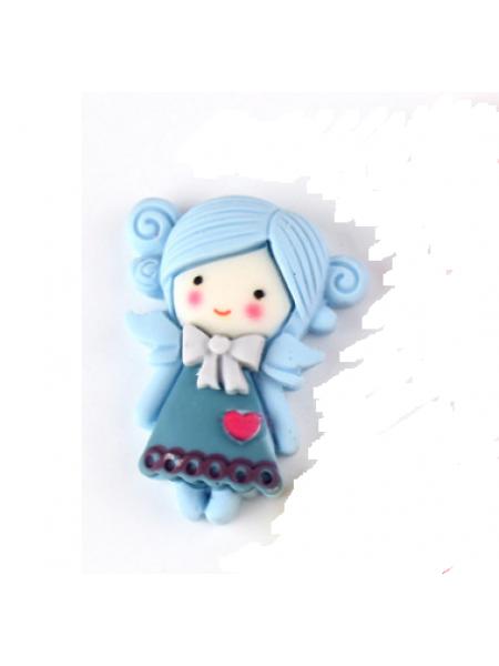 Кабашон (декоративный элемент),Девочка-№1 - 23*30мм