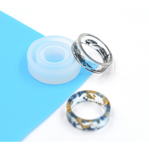 Силиконовый молд -кольцо прямое-18мм-1129-18