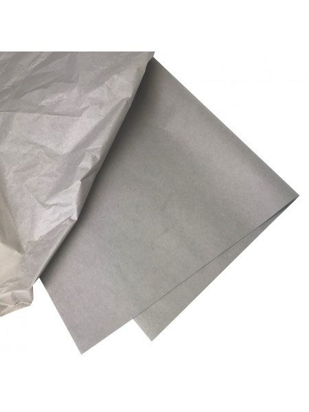 Папиросная бумага тишью,цв-серый,цена за 10 листов