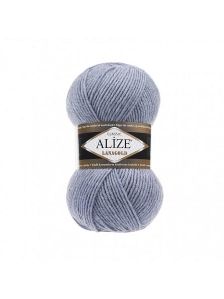 Пряжа Alize-Ланаголд (Lanagold) цв-221 (св. джинс меланж)