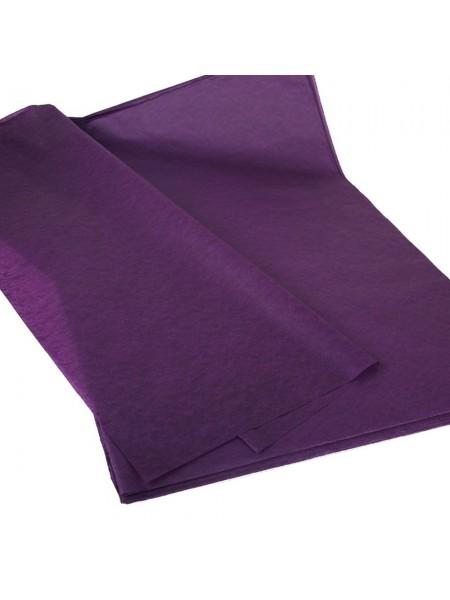 Папиросная бумага тишью,тёмно-фиолетовая,цена за 10 листов
