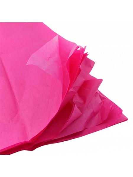 Папиросная бумага тишью,фукси,цена за 10 листов