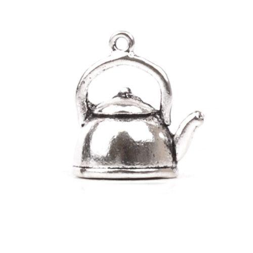 Подвеска чайник,16*19мм,цв-античное серебро