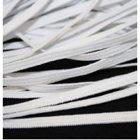 Резинка бельевая  (продержка),белая, 4мм, цена за 1 метр