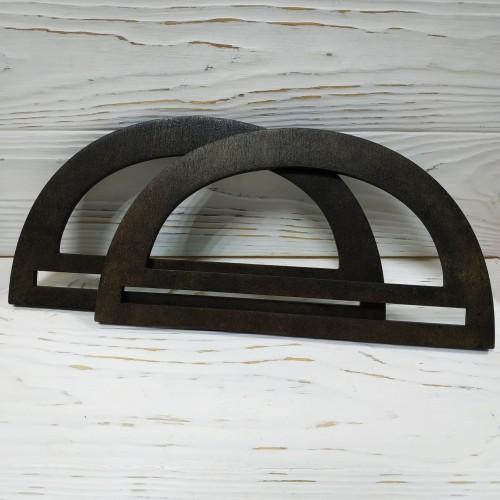 Деревянные ручки для сумки ,цв-венге,размер 23 см,цена за пару