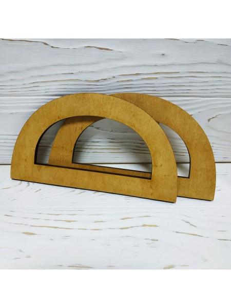 Деревянные ручки для сумок,цв-св-коричневый,17*10 см,цена за пару