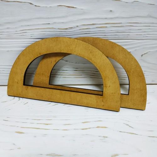 Деревянные ручки для сумок,цв-св-коричневый,20*11 см,цена за пару
