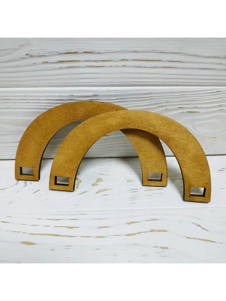 Деревянные ручки для сумок,цв-св-коричневый,17*9 см,цена за пару